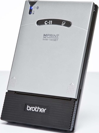 Brother MW-145BT Mobile Printer - Drucker s/w Thermotransferdruc