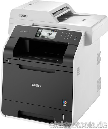 Brother Multifunktionsgerät 3in1, Laser Farbe DCP-L8450CDW