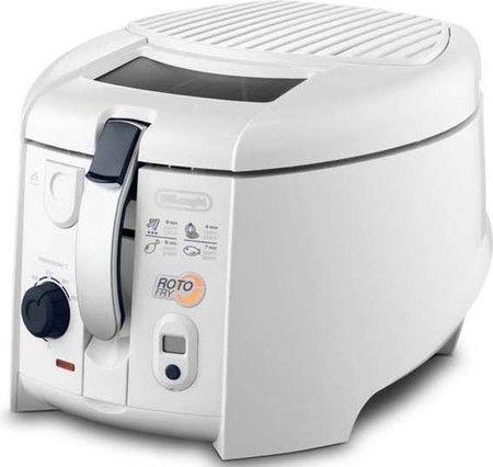 DeLonghi Rot-Fry-Fritteuse 1800W,Timer F 28533.W ws