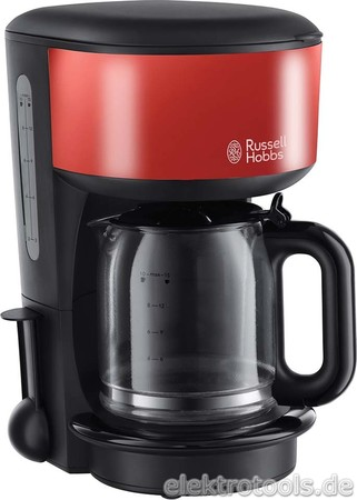 Russell Hobbs Kaffeemaschine Glas Colours 20131-56 Flame Re