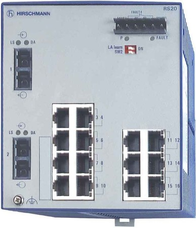 Hirschmann INET Ind.Ethernet Switch RS20-1600L2S2SDAU
