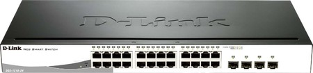 DLink Deutschland 24-Port Gigabit Switch Layer 2 managed DGS-121