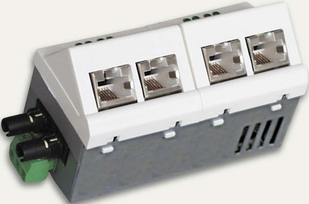 Microsens Installations-Switch 5 Port Fast Ethernet MS450230M