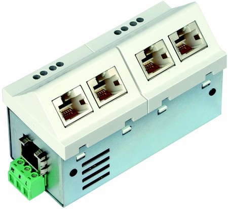 Microsens Installations-Switch 6 Port Fast Ethernet MS450156M