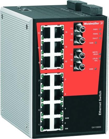 Weidmüller Managed Switch IE-SW-PL16MT-14TX2ST