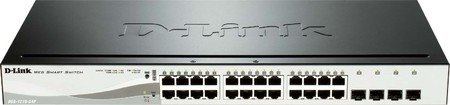 DLink Deutschland 24-Port PoE Gigabit Switch Layer 2 managed DGS