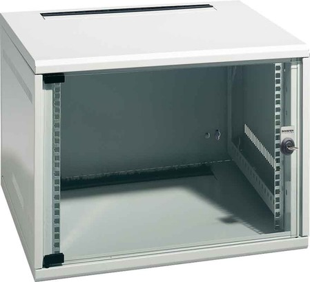 SCHÄFER NT Box - Rack - 6 HE - RAL 7035
