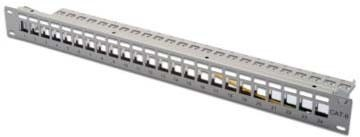 DIGITUS DN-91410 Schalttafel/Steckbrette 24-Port Patch-Panel - R