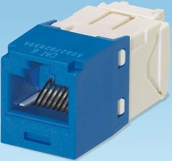 Panduit MINI-COM Modul Cat.6 RJ45 UTP blau CJ688TGBU