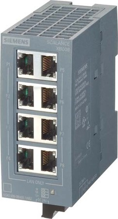 Siemens Indus.Sector Scalance XB008 IE Switch 6GK5008-0BA00-1AB2