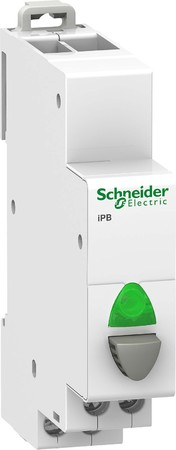 Schneider Electric Taster 1Ö+LED rt 110-230V A9E18037