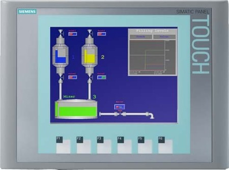 Siemens Indus.Sector Touch Screen 5,7 LCD TFT Display 6AV6647-0A