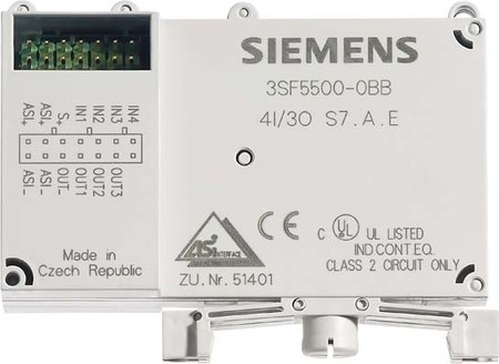 Siemens Indus.Sector AS-Interface Slave Digital 3SF5500-0BC