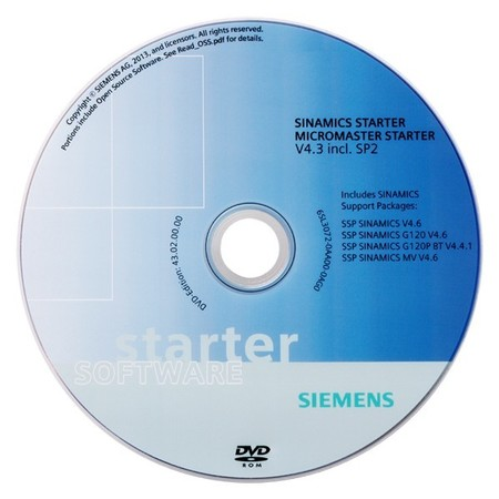 Siemens Indus.Sector Software V4.2 DVD 6SL3072-0AA00-0AG0