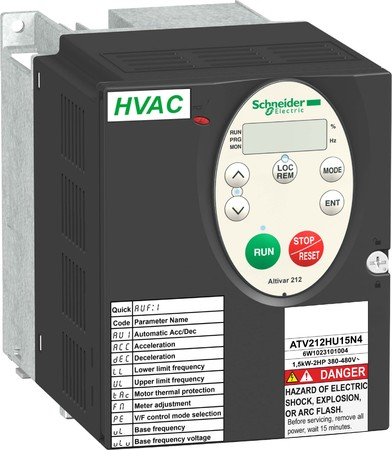 Schneider Electric Frequenzumrichter 45KW 460V 3PH,IP20 ATV212HD