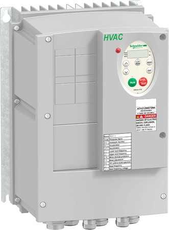 Schneider Electric Frequenzumrichter 2,2KW 480V 3PH,IP54 ATV212W