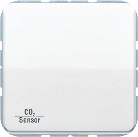 Jung KNX CO2-Sensor, RT-Regler Luftfeuchtesensor aw CO2 CD 2178