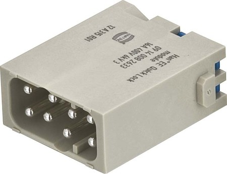 Harting Han EE Quick-Lock module male 09 14 008 2633