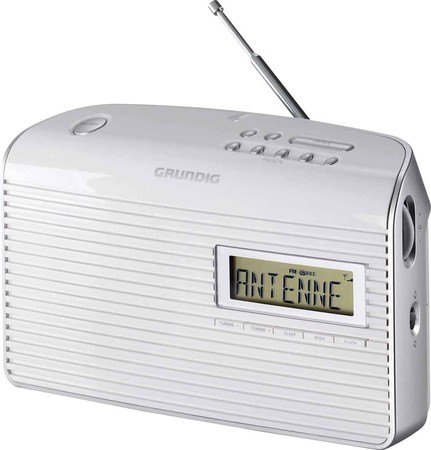 Grundig Intermedia Portables Radio weiß Music 61 white