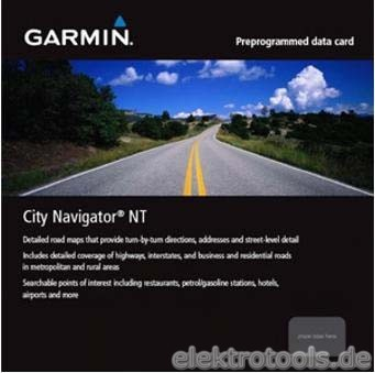 Garmin SD-Datenkarte Skandinavien 2009 902108